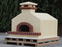 Residential Assembled Pizza Oven Toscana