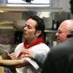 Tony Gemignani and Peter Reinhart in Kitchen