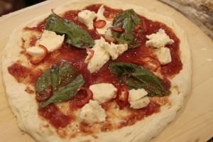 Margherita Pizza w/Fresnos