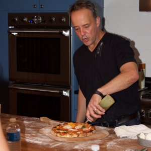 From a home oven, using the Baking Steel, a better than pizzeria worthy pizza!