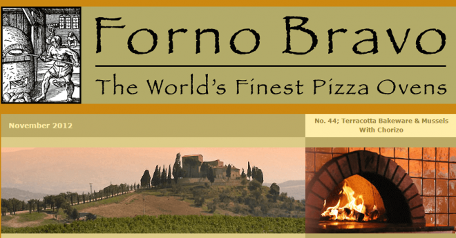 wood-fired newsletter november 2012