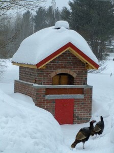 Residential Pizza Oven Maine