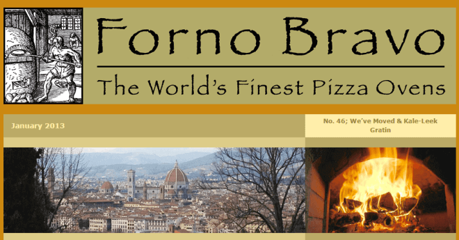 wood-fired newsletter January 2013