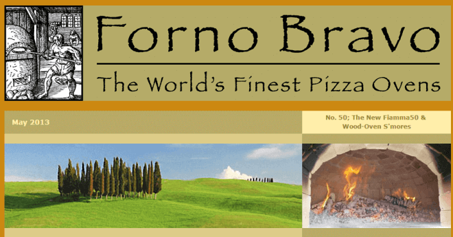 Wood-Fired Newsletter May 3013