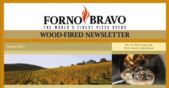 Wood-Fired Newsletter August 2013