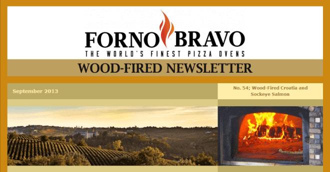 Wood-Fired Newsletter September 2013