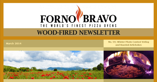 Wood-Fired Newsletter March 2014