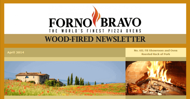 Wood-Fired Newsletter April 2014