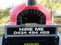 mobile catering pizza oven