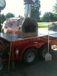 mobile pizza oven