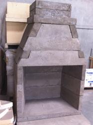 Calore2g120 Outdoor Fireplace Kit Forno Bravo