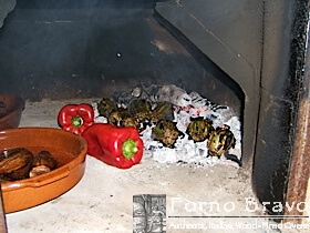 roast artichokes