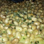 braised shell beans