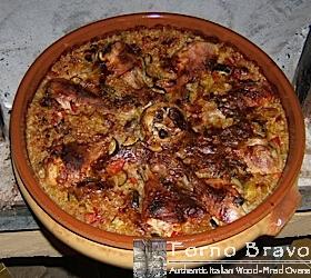 baked chicken rice