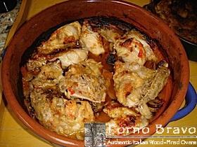 pollo fricassea