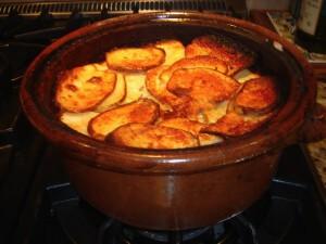 gratin potatoes