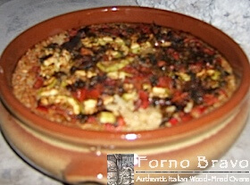Baked Rice with Vegetables