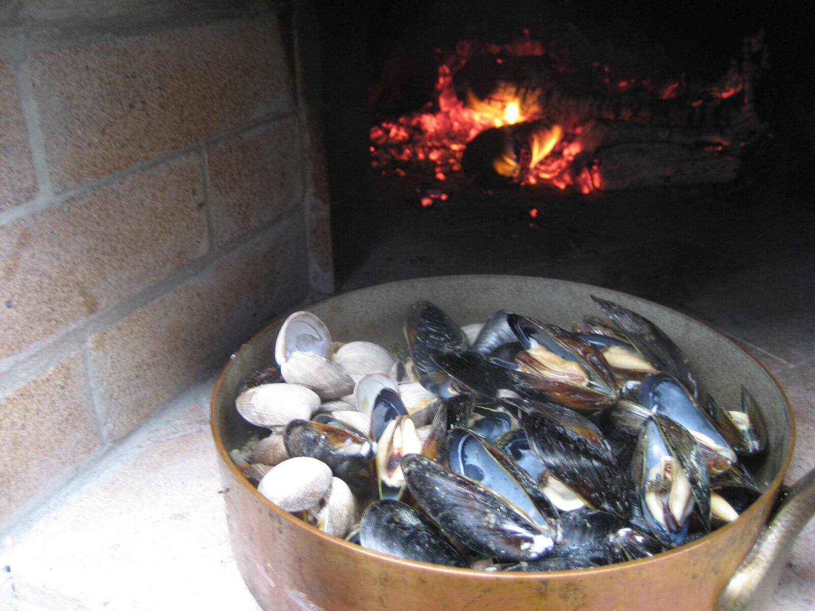 oven roasted shellfish