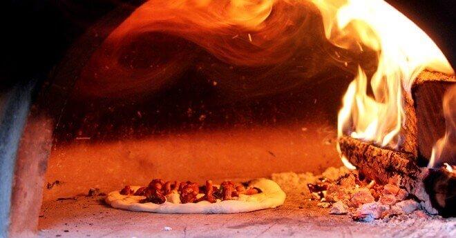 Taleggio Chanterelle Pizza