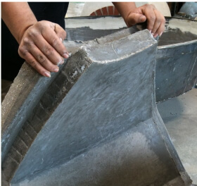 4 inch thick Modena2G Pizza Oven dome