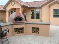 Premio Home Pizza Oven Stucco Finish
