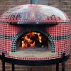 custom home pizza oven, wood fired pizza oven, napolino70 pizza oven, forno bravo