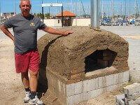 Pompeii DIY Brick Oven Marina Mazatlan MEX 2