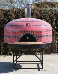 pizza oven Forno Bravo tiled