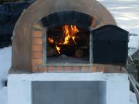 Pompeii DIY Brick Oven Winter Photo