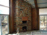 Casa Home Pizza Oven Indoors with Rock - Alabama