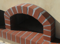 pizza oven arch