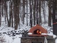 Toscana Home Pizza Oven Winter Photo Bovina NY 1