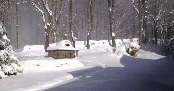Bovina, NY Wood-fired oven