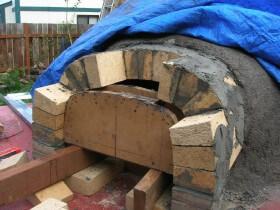 brick vent for pizza oven