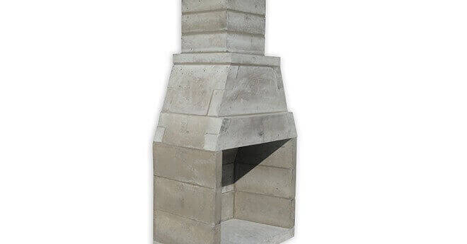 Modular Outdoor Fireplace Kit Masonry Outdoor Fireplace