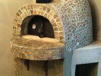 Giardino Outdoor Pizza Oven Corner Install