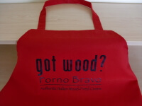 Forno Bravo got wood? apron