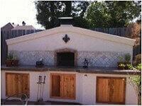 Premio Home Pizza Oven Stone and Stucco Northern LA