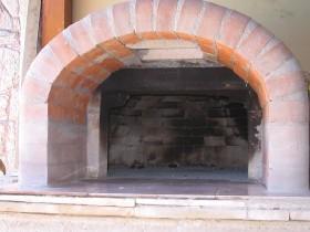 oven opening door jam for pizza oven