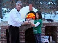 Primavera70 Wood Fired Pizza Oven Winter Photo