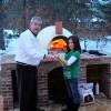 Primvera70 Countertop Outdoor Pizza Oven in Winter