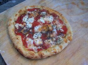 Pizza Margherita Pizza Sauce