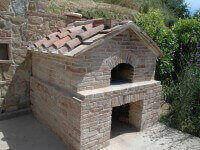 Pompeii DIY Brick Oven - Brick Gabled Finish