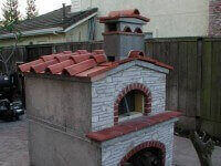 Pompeii DIY Brick Oven - Stockton CA