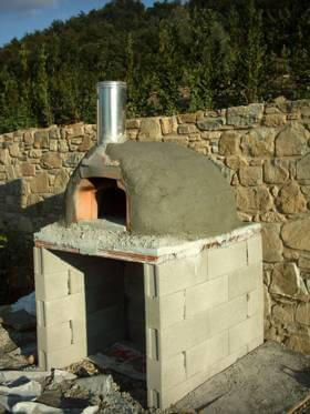 Firenze Concept Pizza Oven Stucco