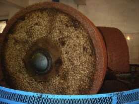traditional mechanical stone mill
