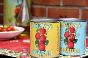 Bianco DiNapoli tomato cans