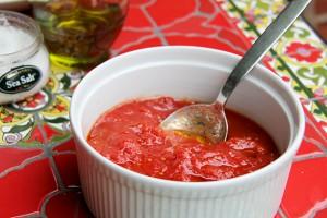 Bianco DiNapoli tomatoes whole prepared recipe