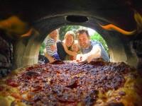 primavera outdoor pizza oven, brick oven cooking, forno bravo, primavera, wood oven pizza
