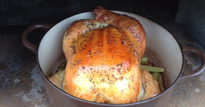 Roasted Chicken in Oven